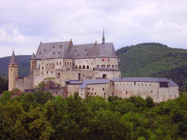 lucemburský hrad