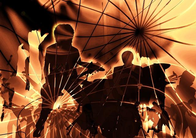 koncert ilustrace