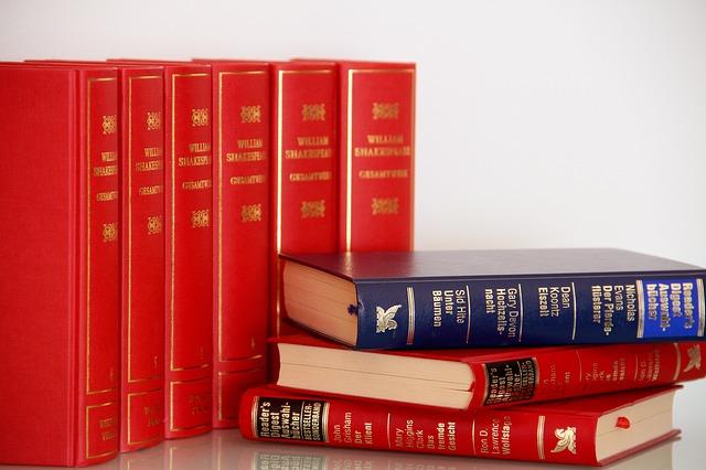 červené knihy