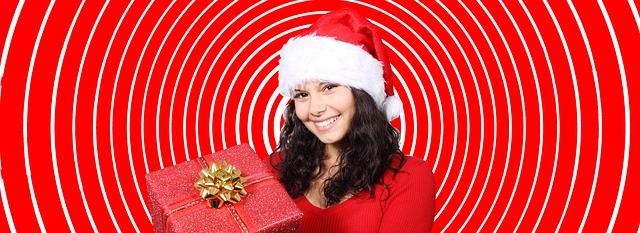 vánoční holka