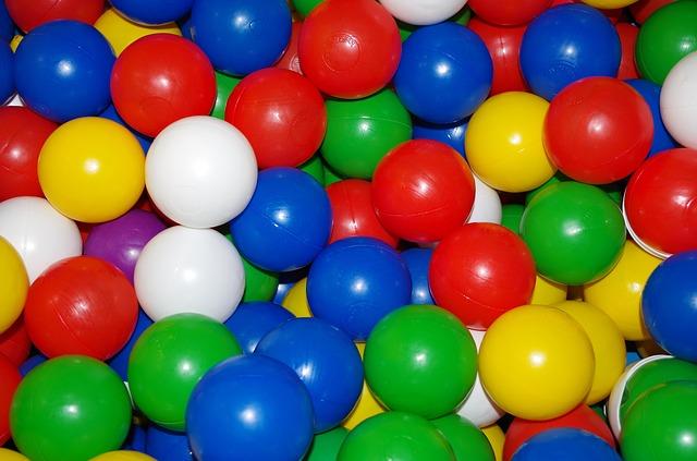 barevné kuličky