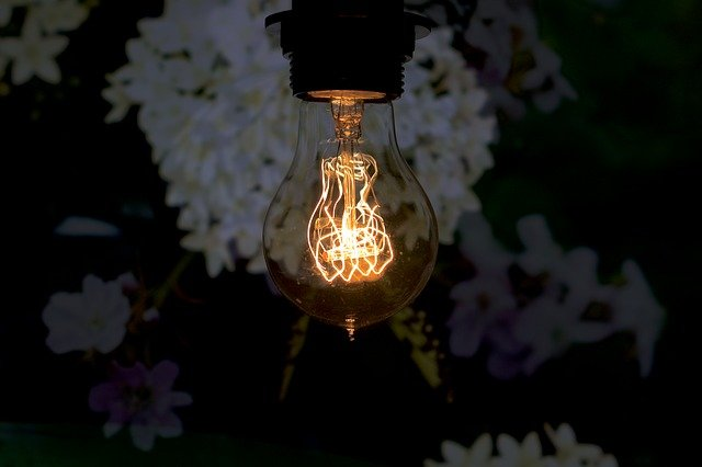 vintage žárovky