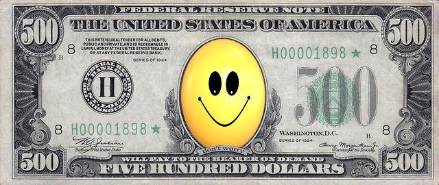 dolary se smajlíkem