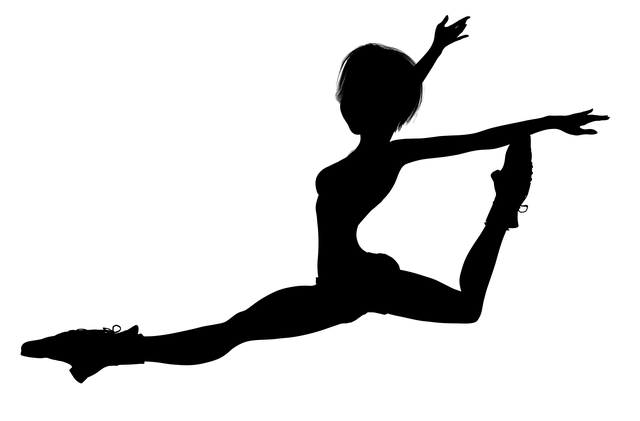černá silueta