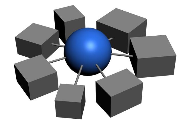 propojený svět a zařízení na jednom obrázku